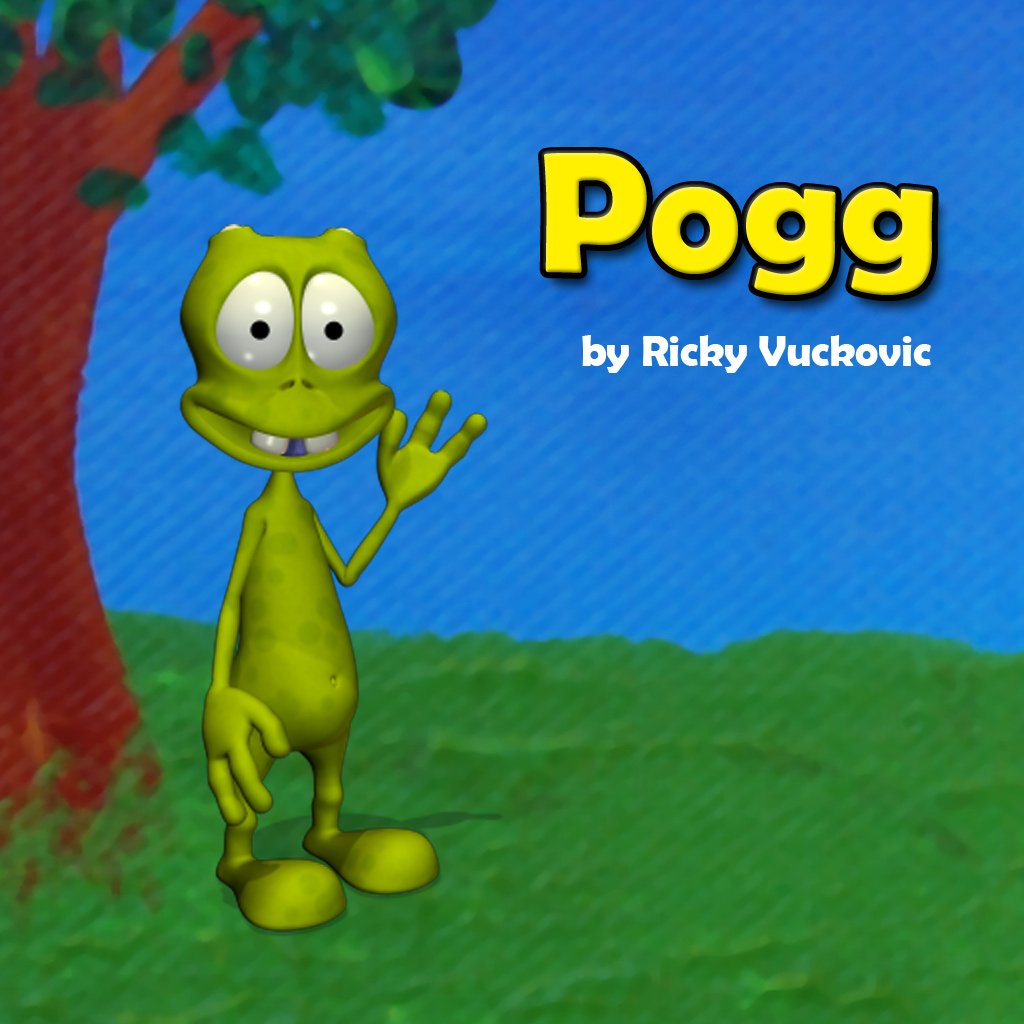Pogg - kids game to learn spelling, language and vocabulary such as verbs, especially in slp and special education like autism a